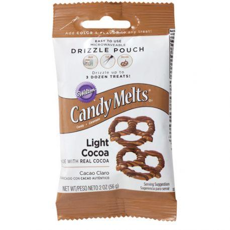 Poche à glaçage - Candy Melt chocolat au lait - 56 g
