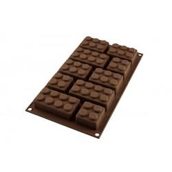 """Moule en silicone tablette de chocolat """"café"""""""