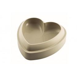 """Moule en silicone pour gâteau """"coeur 3d"""""""