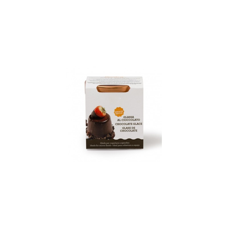 gla age miroir au chocolat 250g f erie cake. Black Bedroom Furniture Sets. Home Design Ideas