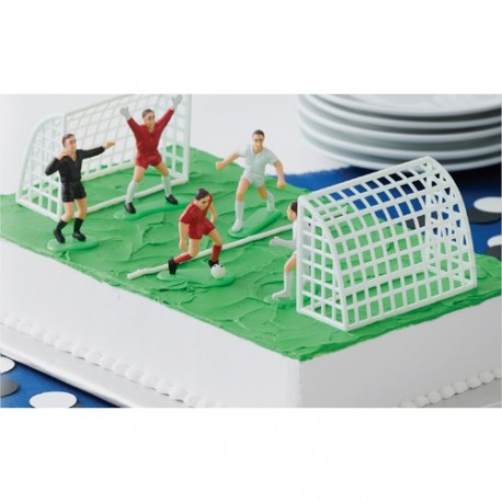 """Décorations """"football"""" pour gâteau"""