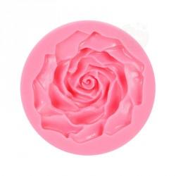 """Moule à gumpaste en silicone """"grande rose"""""""