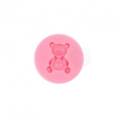 """Moule à gumpaste en silicone """"ours en peluche"""""""