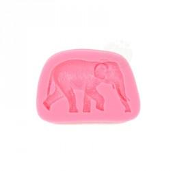 """Moule à gumpaste en silicone """"éléphant"""""""