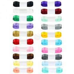 Ruban en satin - 5m - Différentes couleurs