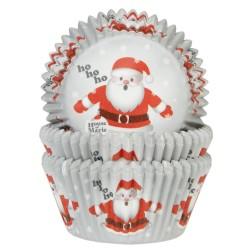 "50 caissettes standard ""papa Noël"""