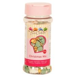 """Décors en sucre """"Mix de Noël"""""""