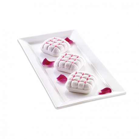 """Moule en silicone pour mini gâteau 3D """"élégant"""""""