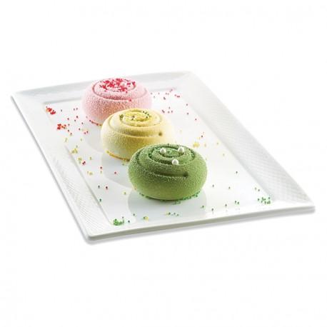 """Moule en silicone pour mini gâteaux 3D """"rond"""""""