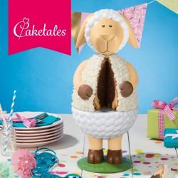 """Kit gâteau 3D """"mouton"""""""