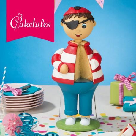 "Kit gâteau 3D ""garçon"""