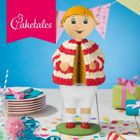 """Kit gâteau 3D """"fille"""""""