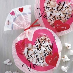 """15 sachets à confiseries """"Valentine"""""""