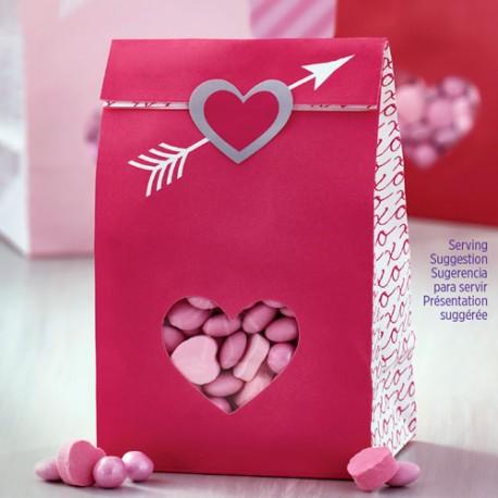 """6 mini sachets à confiseries """"Cupidon"""""""