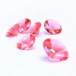 24 bijoux de topaze rose comestible