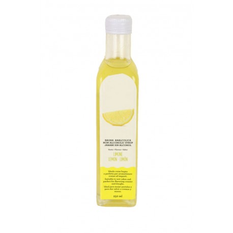 Sirop sans alcool arôme citron