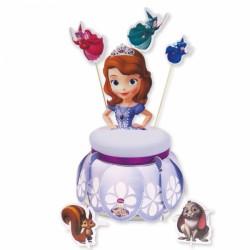"Présentoir à gâteau ""Princesse Sofia"""