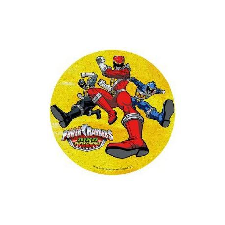 Disque azyme Power Rangers - Différents modèles