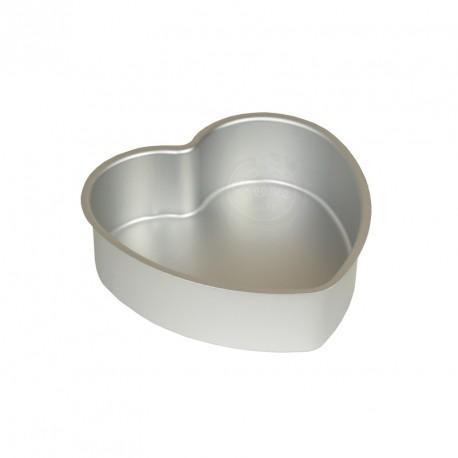 Moule à gâteau cœur hauteur 5 cm - Différents diamètres