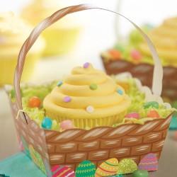 """4 paniers à cupcakes """"Pâques"""""""
