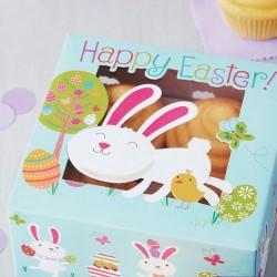 """2 boîtes à cupcakes """"petit lapin"""""""