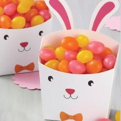 """4 boites à confiseries""""lapin de Pâques"""""""