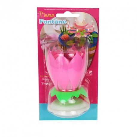 "Bougie fontaine ""Fleur"""