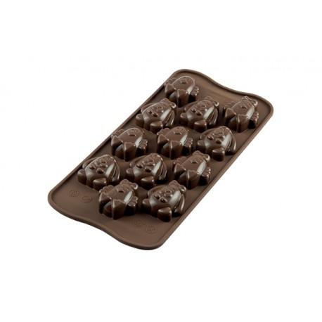 """Moule à chocolat """"Lapin et Poussin"""""""