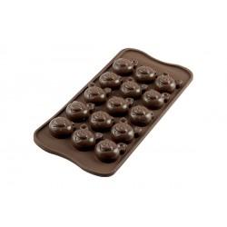 """Moule à chocolat """"cochons"""""""
