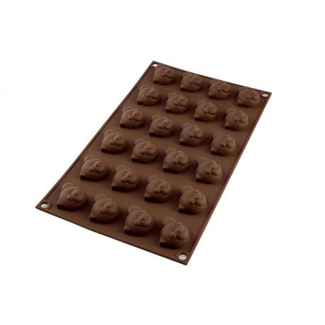 "Moule à chocolat ""Panda"""