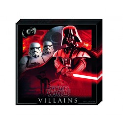 20 serviettes - Star Wars Dark Vador