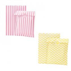 10 sachets à bonbons - Différentes couleurs
