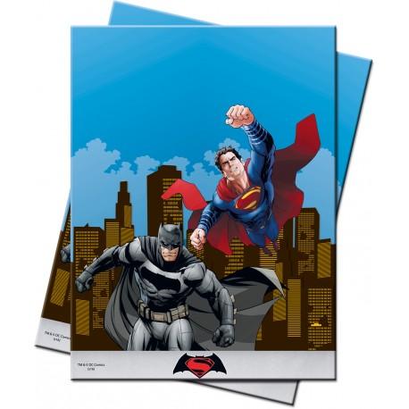 "Nappe en plastique ""Batman vs Superman"""