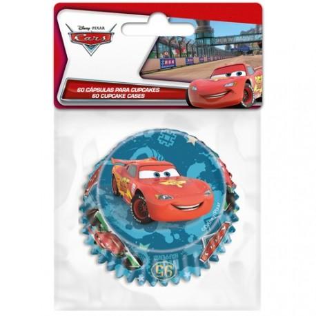 """60 caissettes à cupcakes """"Cars"""""""