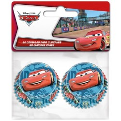 """60 mini caissettes pour cupcakes """"Cars"""""""
