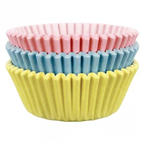 60 caissettes couleurs pastel