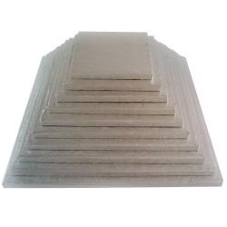 Cake drum carré épaisseur 11 mm - Différentes tailles