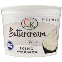 "Crème au ""beurre"" prête à l'emploi (Buttercream) 1.59 kg"