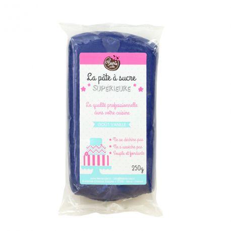 Pâte à sucre Bleu Marine 250g