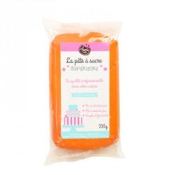 Pâte à sucre Orange 250g