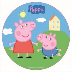 "Disque comestible ""Peppa Pig"""