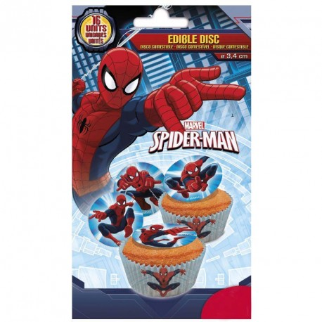 Disques comestibles Spider-Man