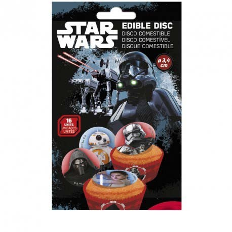 Disques comestibles Star Wars