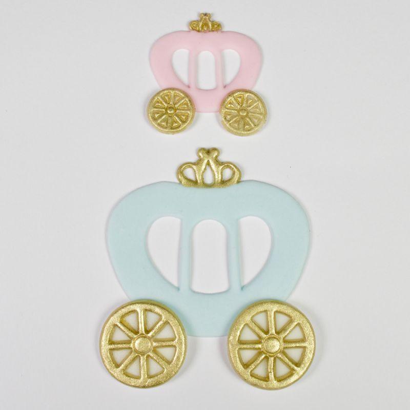 3 emporte pi ces carrosse de princesse f erie cake - Carrosse de princesse ...
