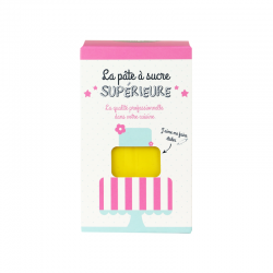 Pâte à sucre 1 kg - Jaune