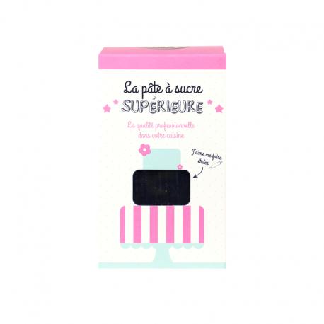 Pâte à sucre 1 kg - Noir