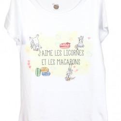 """T-shirt """"Macarons"""""""