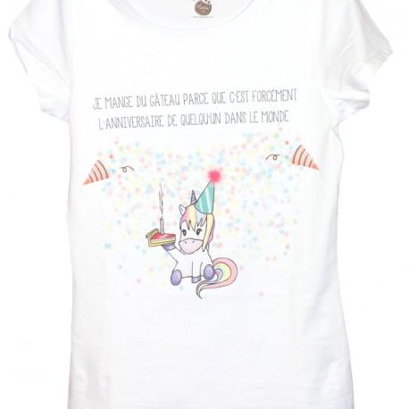 "T-shirt ""Anniversaire"""