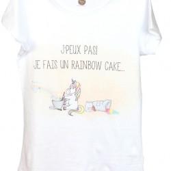 """T-Shirt """"Rainbow cake"""""""