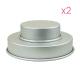 4 moules à gâteaux ronds pour wedding cake - 15,2 et 25,4 x 5,1cm (x2)